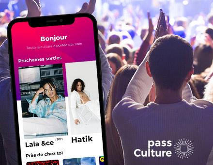 Tu as eu 18 ans récemment ? Réserve tes places sur l'appli Pass Culture!