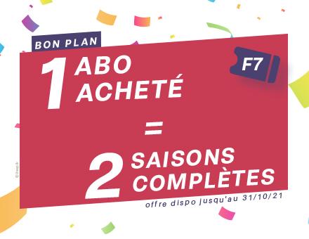 Bon plan : 1 abo acheté = 2 saisons complètes à File7 !