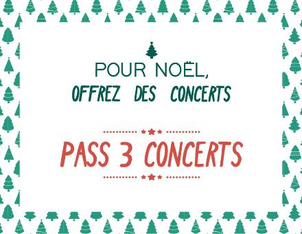 Pour Noël, offrez des concerts !