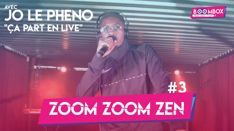 """Zoom Zoom Zen #3 - Jo Le Pheno - """"Ça part en live"""" © DR"""