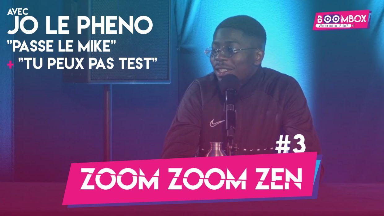 """Zoom Zoom Zen #3 - Jo Le Pheno - """"Passe le mike"""" + """"Tu peux pas test"""" © DR"""