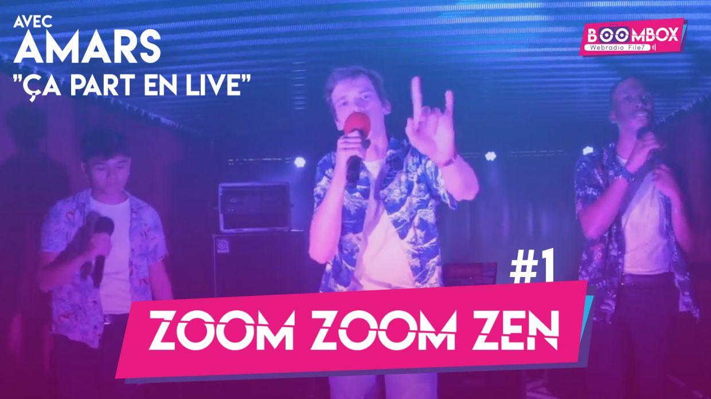 """Zoom Zoom Zen #1 - AMARS - """"Ça part en live"""" © DR"""