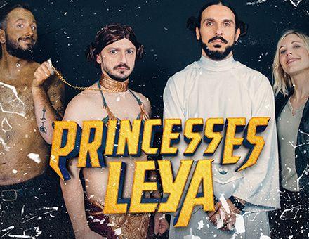 Princesses Leya Laura Gilli